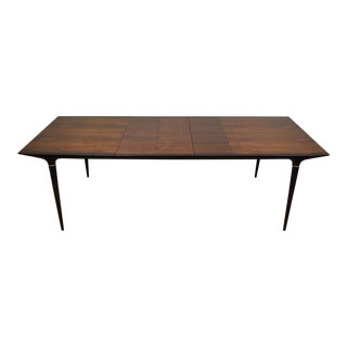 Danish Rosewood Dining Table & 3 Leafs