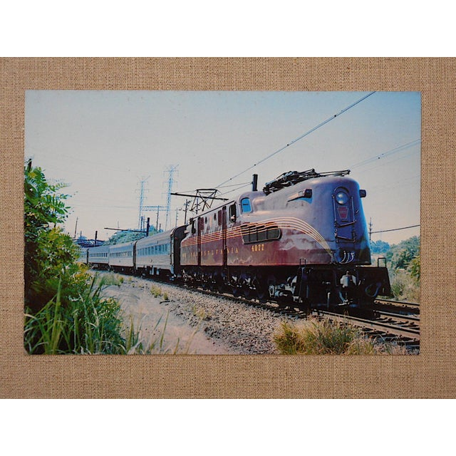 Vintage Railroad Locomotive Photo Postcard - Image 2 of 3