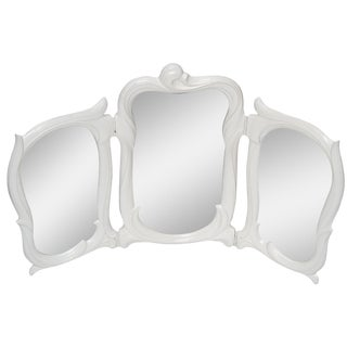 Vintage White Dressing Table Mirror