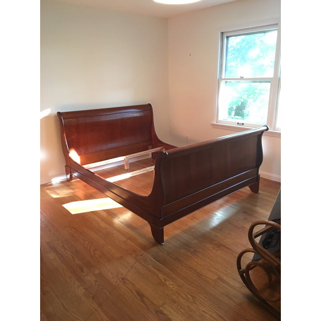 French Grange Sleigh Bed - Image 2 of 4