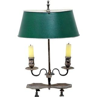 Silver Bouillotte Lamp