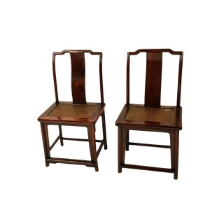 19th Century Ming Dynasty Chairs - A Pair