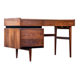 Merton Gershun for Dillingham Floating Walnut Desk