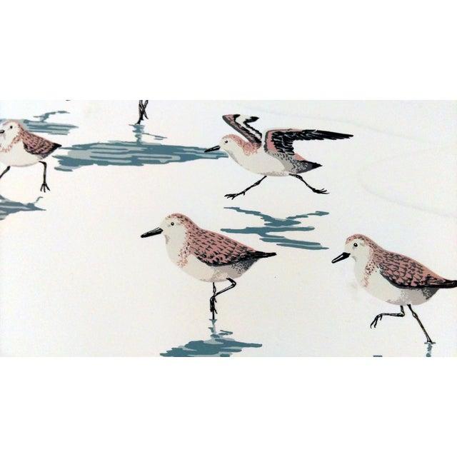 "Frank Logan ""Chasing Waves"" Shore Birds Serigraph - Image 6 of 9"