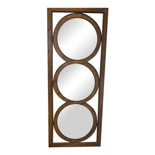 Bronze Metal Circles Mirror