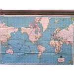 Image of Vintage International Map of the World by Hammond
