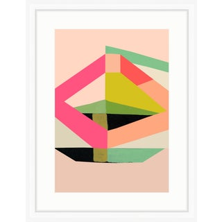 """""""Odyssey"""" Abstract Framed Print"""