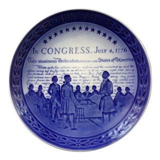 Royal Copenhagen Porcelain Commemorative Plate