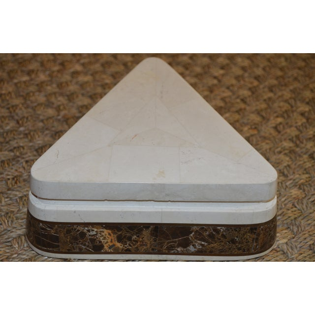 Triangle Tessellated Stone Trinket Box - Image 11 of 11