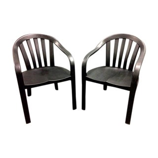Courthouse Chairs by Gunlocke - Set of Six