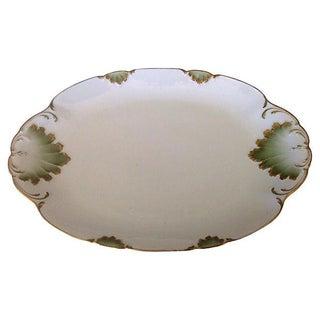 Mint & Gilt French Platter