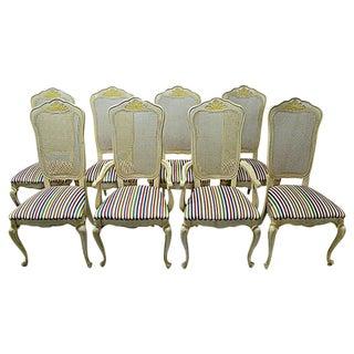 Italian Dining Chairs - Set of 8