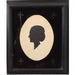 Image of 19th-C. Portrait Silhouettes - A Pair