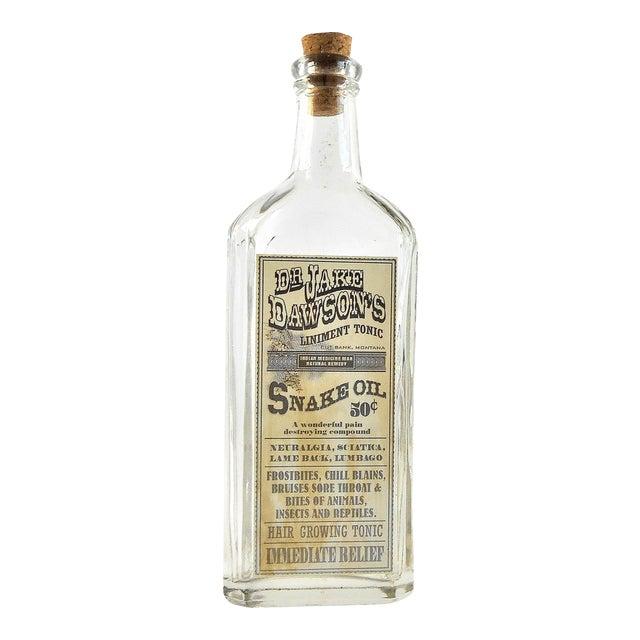 Vintage Snake Oil Remedy Bottle – Decorative Antique Remedy Bottle - Image 1 of 5