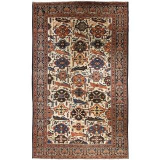 "Antique Persian Baktiar carpet 10' 11"" x 17' 5"""