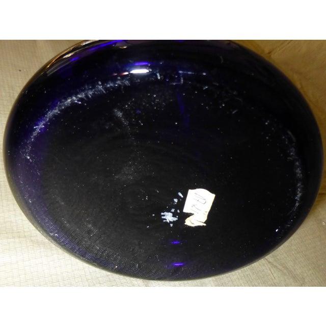 Image of Large Cobalt Blue Flower Vase