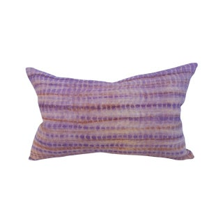 Hill Tribe Homespun Wax Resist Pillow