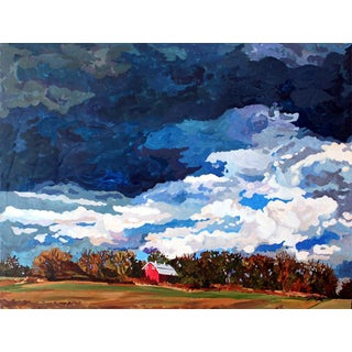 """Josh Moulton """"The Storm Is Coming"""" Giclee Print of the Painting"""