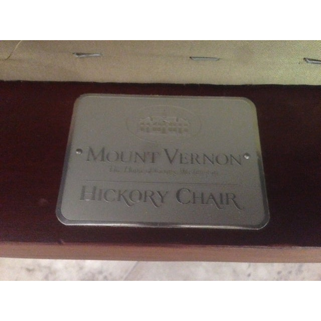 Hickory Chair Mt. Vernon Dining Chairs - Set of 8 - Image 7 of 8