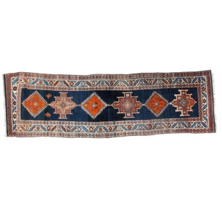 Leon Banilivi Antique Serapi Runner , 3′2″ × 10′2″