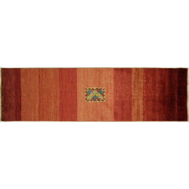 Image of Modern Collection Gabbeh Runner - 2′9″ × 10′