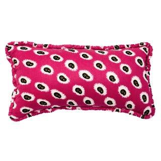 Pink Batik Style Lumbar Pillow