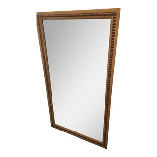 Hickory Light Grey Chair Nailhead Mirror