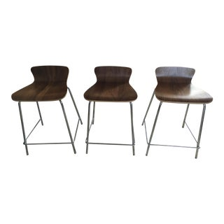 Crate & Barrel Counter Stools - Set of 3
