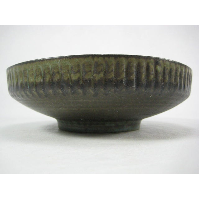 Vintage 70s Israel Lapid Art Pottery Bowl - Image 3 of 8