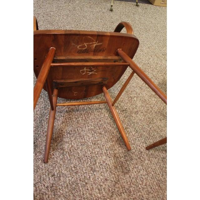 Kipp Stewart Paddle Back Chairs - Set of 6 - Image 10 of 11