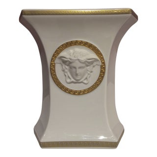 Rosenthal Versace White Sculptural Vase