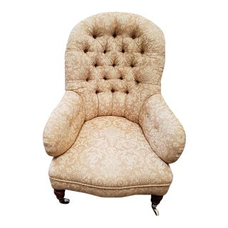 Victorian Button Back Parlor Chair c.1900