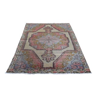 Yaz Large Turkish Rug - 4′3″ × 7′9″