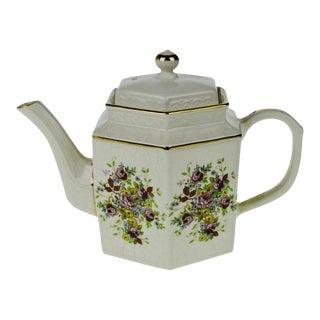 Arthur Wood Porcelain Floral Teapot