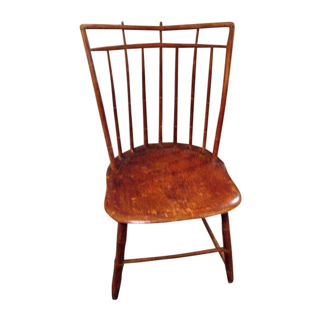 Antique Signed Samuel Gragg Windsor Chair - Image 1 of 11