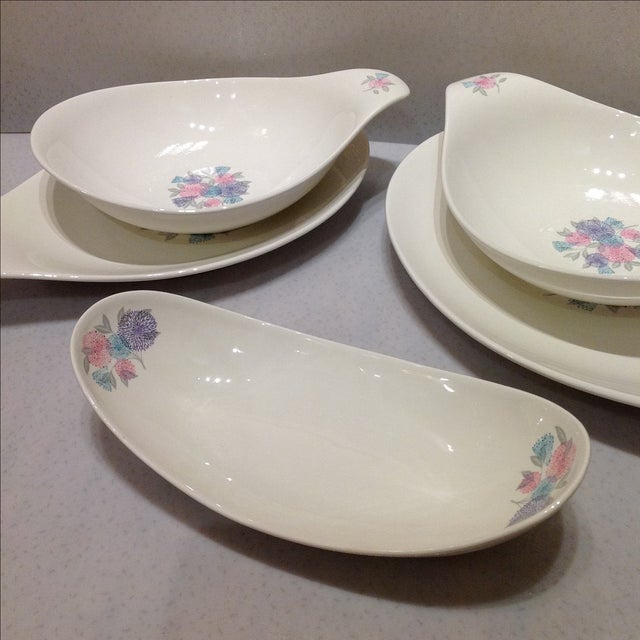 1950s Dishes: 1950s Eva Zeisel Serving Dishes - Set Of 5