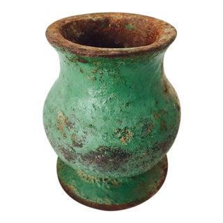 Antique Cast Iron Mortar