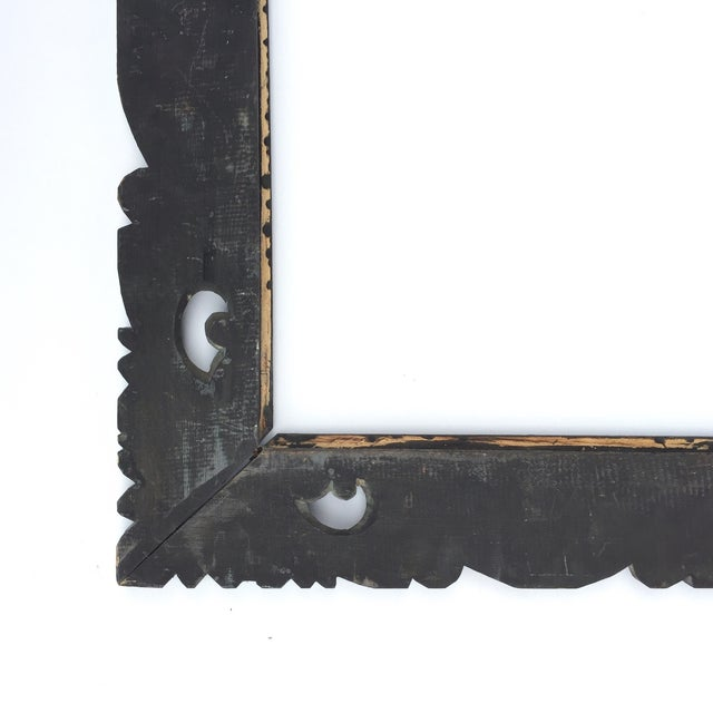 Image of East Asian Hand Carved Mirror Frame