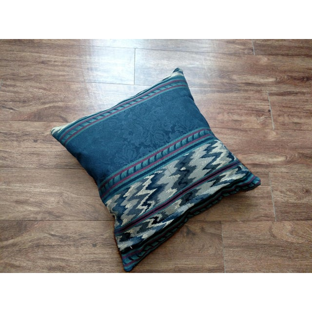 Gambrell Renard Brown Brindle Cowhide Pillow - Image 3 of 3
