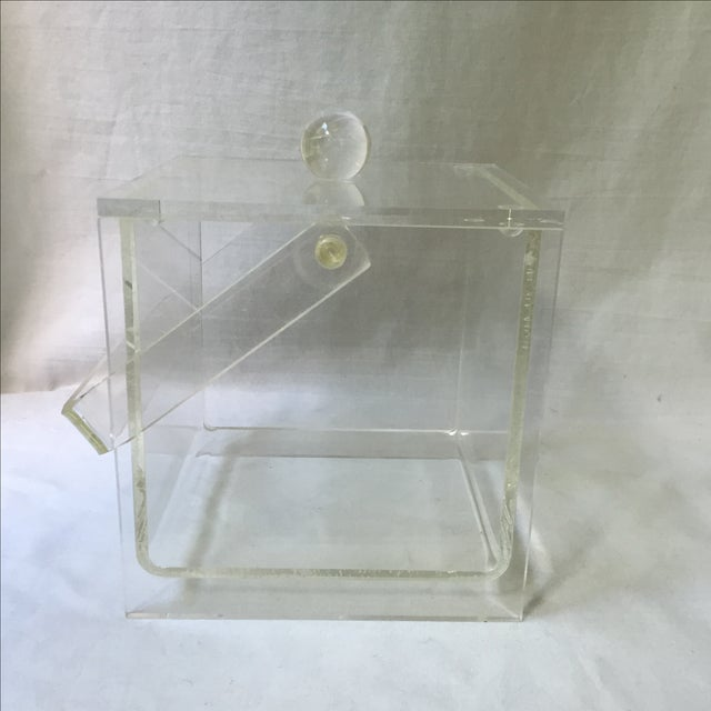 Vintage Lucite Ice Bucket - Image 5 of 6