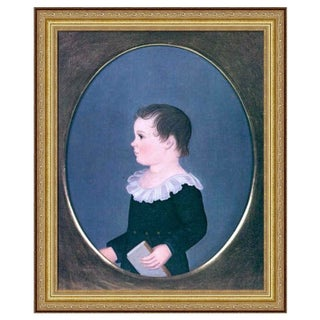 Art on Canvas - Little Boy Portrait
