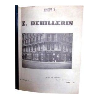 Vintage E. Dehillerin Cookware Catalog