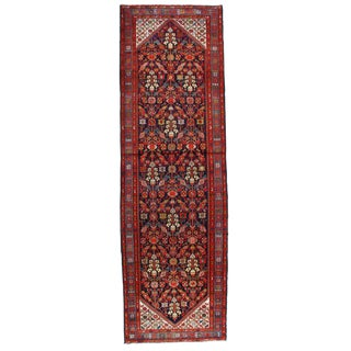 "Pasargad NY Antique Persian Malayer Hand-Knotted Rug - 3'8""x11'10"""