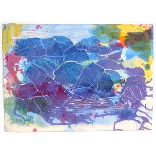 Watercolor In Abstract