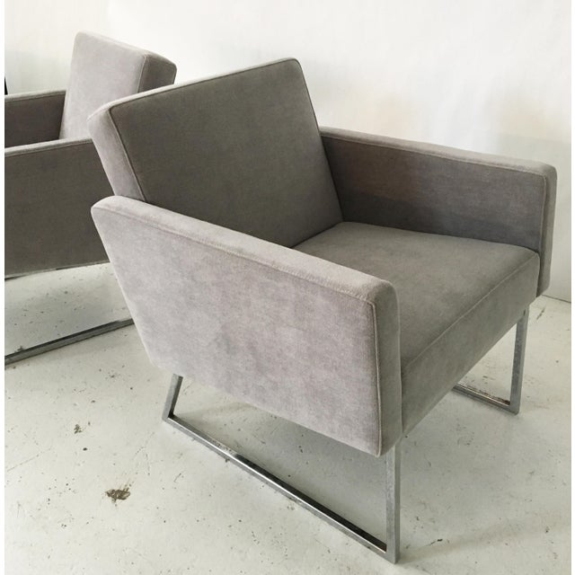 Image of Milo Baughman Lounge Chairs- A Pair
