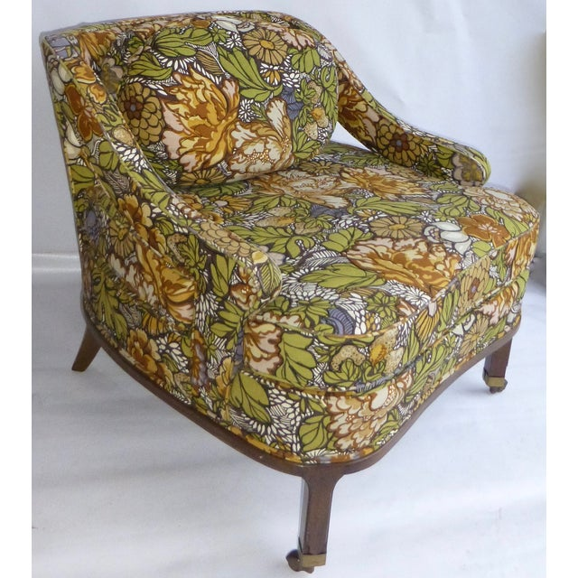Mid Century Modern Club Chair - Pair - Image 7 of 10
