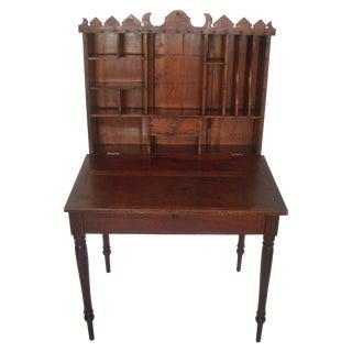 Antique Lift-Top Plantation Desk/Bureau