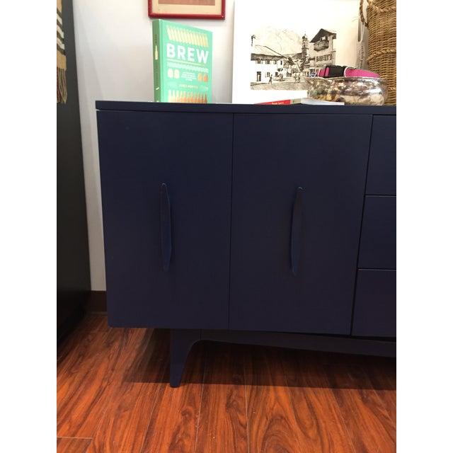Vintage Blue Mid-Century Modern Dresser - Image 2 of 6