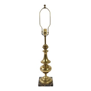 Stiffel Brass & Marble Table Lamp