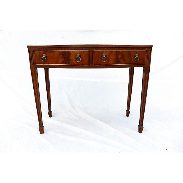 Image of Antique Georgian Style Two Drawer Sideboard